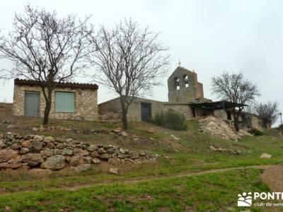 Enebral, Ermita Hornuez–Villa Maderuelo; senderismo; rutas senderismo